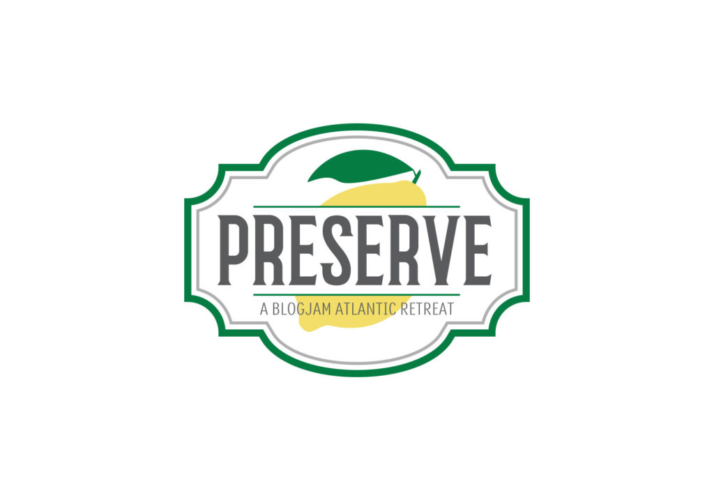 Preserve Retreat brand identity