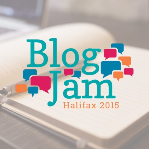BlogJam Atlantic Logo Design Tara Joy Andrews