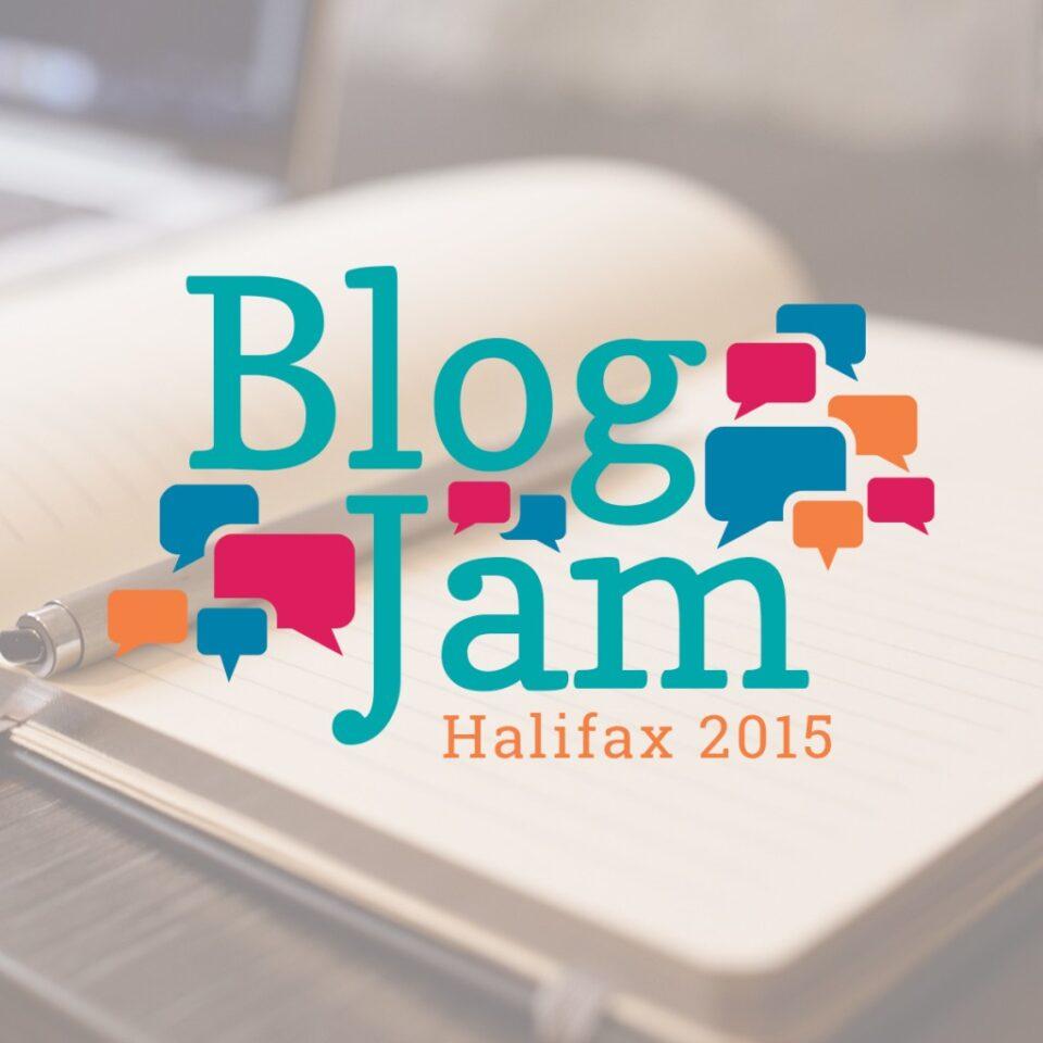 BlogJam Atlantic Logo Design Tara Joy Andrews