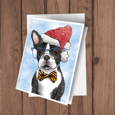 HolidayBostonTerrier